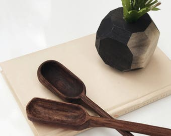 Handmade Wooden Coffee Scoop | Hand Carved | Coffee Bar | Wooden Cooking Utensil | Kitchen Items | Home Goods | Natural | Sustainable