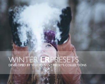 20 Winter Lightroom Presets Modern Photography