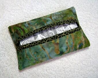 Kleenex Cover - Fancy Pocket Tissue Holder - Tissue - Kleenex - Tissue Holder - Cotton Fabric - TC287