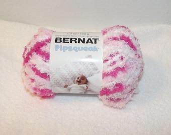 Bernat Pipsquak Yarn, Pink Swirl Bernat Yarn, Pink Bernat Yarn, Pink Baby Yarn, Soft Pink Baby Yarn, Bernat Yarn, Bernat Pipsqueak