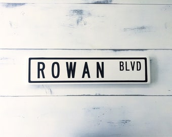 Custom Street Sign - Wooden Sign