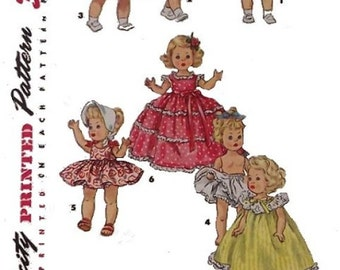 "Pattern for 8"" Ginny, Muffie, Alexanderkins Wardrobe 2"