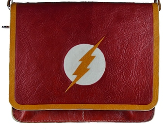 Flash Geek Comic Book / Messenger Bag