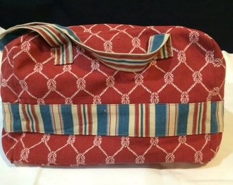 Handmade hand bag
