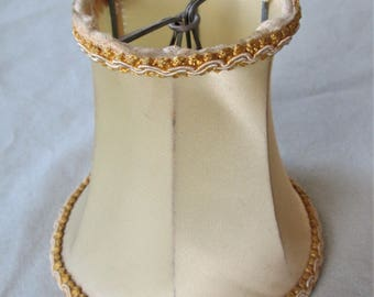1930s Small Silk Lampshade Vintage