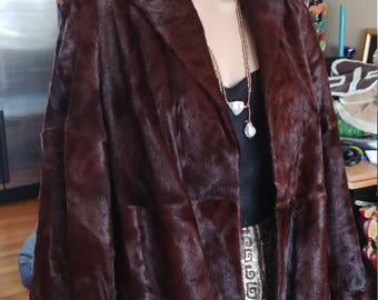 Pony Fur Jacket Size S-L Vintage