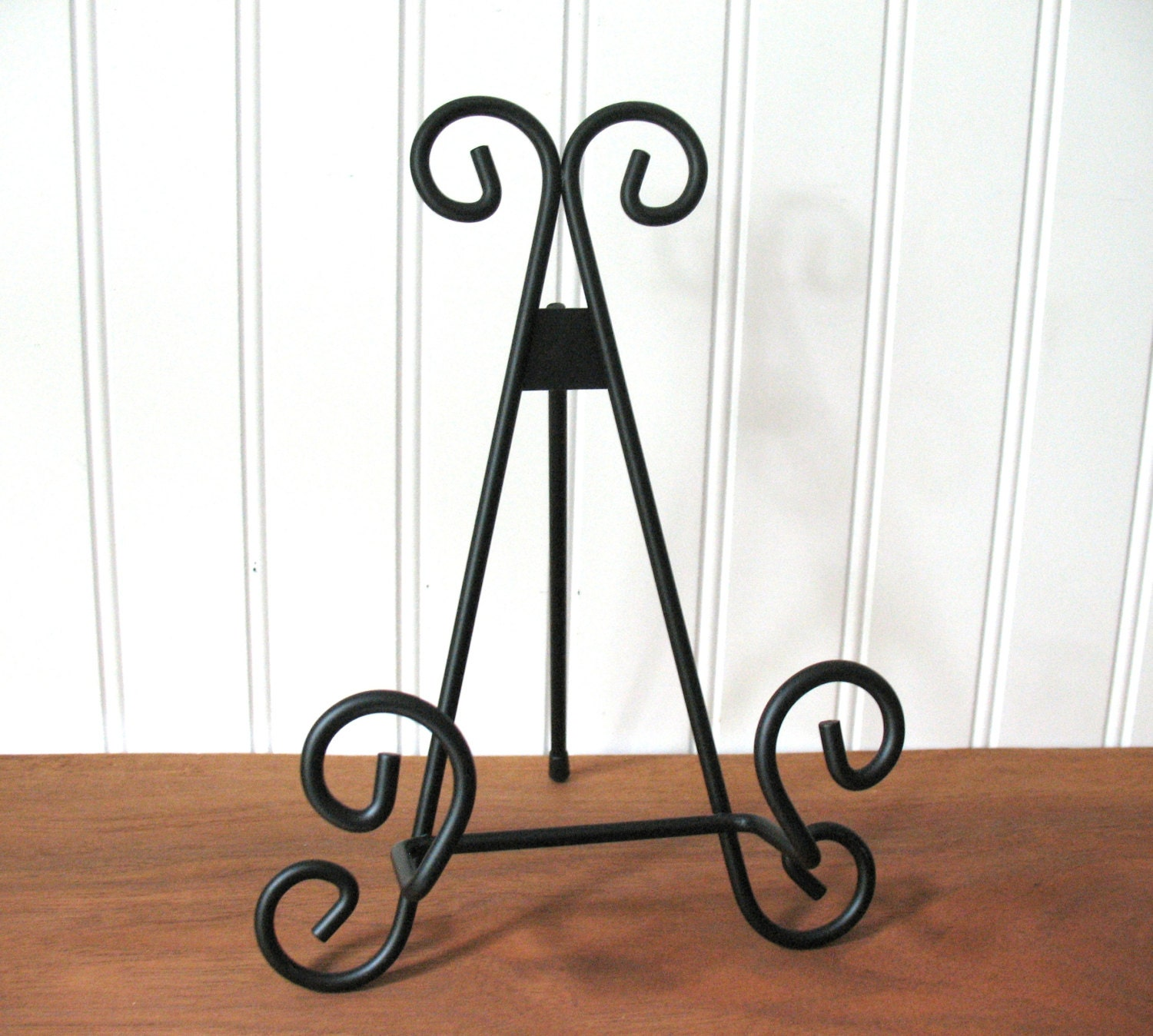 9 BLACK METAL EASEL Wire Tabletop Wedding Display