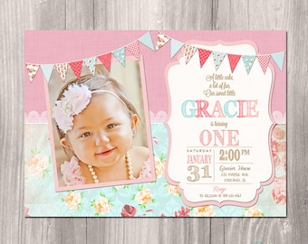 1st birthday tea party invitations Minimfagencyco