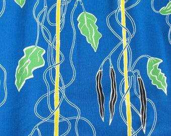 Vines Blue - IKEA Avsiktlig Cotton Fabric