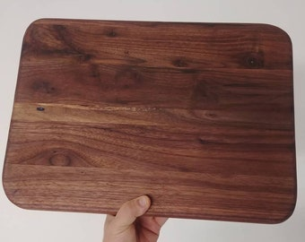 Extra large solid black walnut cutting board and chopping block