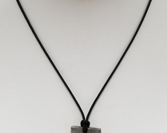 Meteorite Pendant Necklace, Free Shipping (18433), Seymchan Meteorite Necklace, Pendantlady,Pq