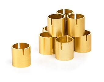 Set of 25 Gold card holders - place card holders, table number holders, photo holders