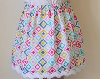 PDF Easy Skirt Tutorial for ANY Size