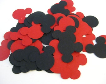 Mickey Mouse Party Confetti, Mickey Mouse Party Decorations