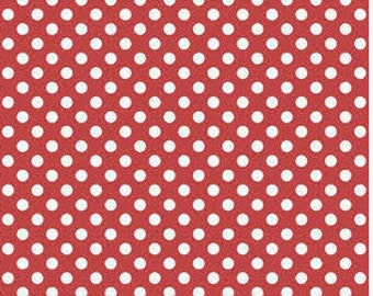 Small Dots Red by Riley Blake Designs - Dots Fabric - Cotton Fabric