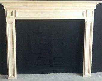 Fireplace Mantel Surround Paint Grade 1009