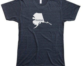 Homeland Tees Men's Alaska Home T-Shirt