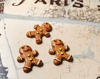 Miniature Gingerbreadman Cookies