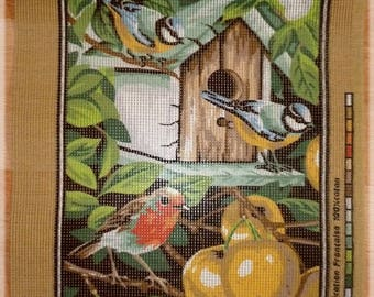 Canvas brand new with birds 30 x 40 cm