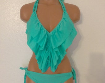 Ruffle bathing suit MORE COLORS