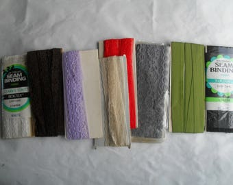 Lace Stretch Lace Seam Binding Tapes Lace New Great Colors