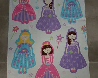 DIY Princess Quilt Kit, Sew your own quilt/blanket, 5 Easy Instructions
