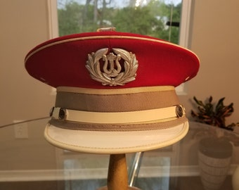 FREE  SHIPPING  Vintage Marching Band CAP