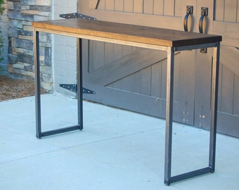 Industrial Entry Table || Sofa Table || Console Table || Desk || Bar || FREE SHIPPING