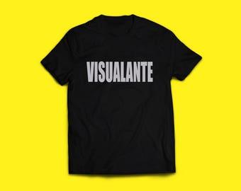 "TORALAI FILMS ""VISUALANTE"" T-Shirt Black/Silver"