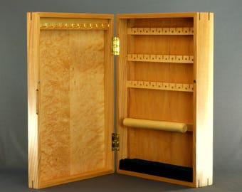 LARGE JEWELRY BOX   Wall Hung   Jewelry Cabinet   Jewelry Case   Womanu0027s  Anniversary Gift