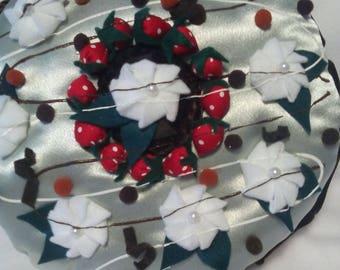 Mint & pistachio, dessert, original pillow cushion.  decorative pillow.
