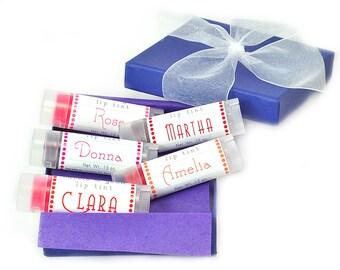 Tinted Lip Balm Gift Set Companions - Lip tints Gift