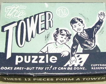 TSL card puzzle  Tower Puzzle