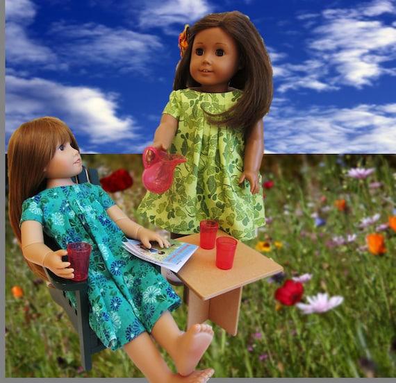 Summer dress patterns for 141618 dolls