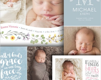 popular items for baby photo collage
