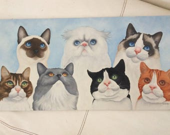 "cat painting ""The Management"""