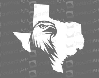 Texas Eagle Decal