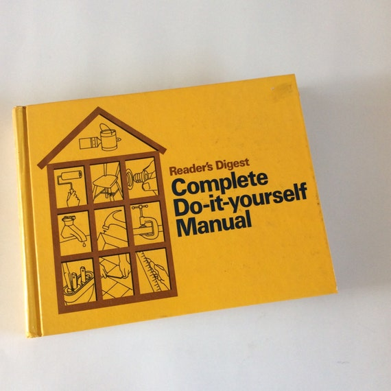 Do it yourself manual book 1970s home manual woodworking do it yourself manual book 1970s home manual woodworking book home repair bookvintage home repair carpentry book plumbing book solutioingenieria Image collections
