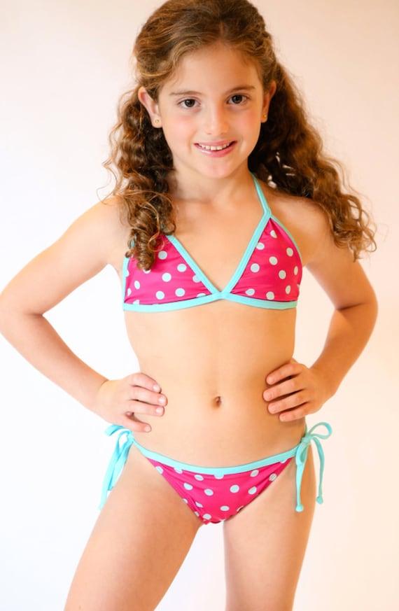 Pocadot Bikini Girl