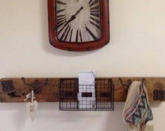 Antique Spinning Wheel Shelf