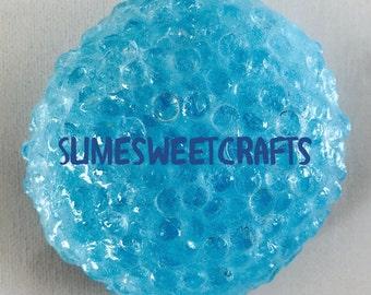 "Limited Sale Fluffy ""Blue Fishbowl"" Slime 1oz-2oz-4oz-8oz"
