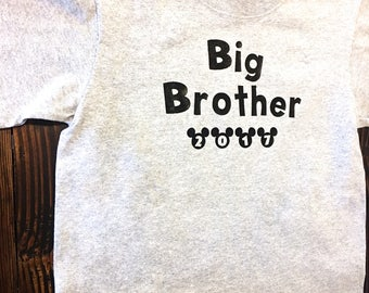 Vacation tops for kids - Big Brother Announcement Shirts - Big Brother tees - Littles