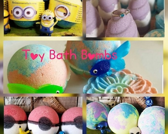 6 Assorted Toy Bath Bombs