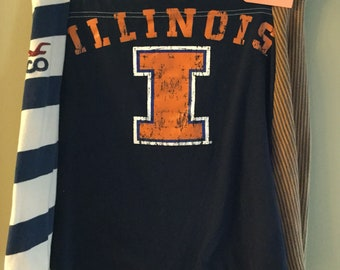Illinois State TShirt Skirt