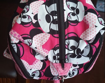 Geeky Minnie Mouse Mini backpack