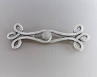 Metal brandenburg 10 cm color silver