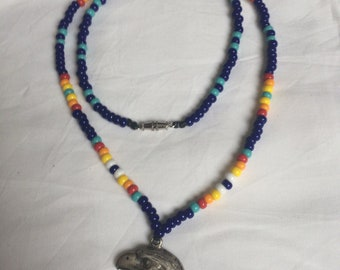 Beaded mans necklace