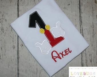 Custom Boys Magic Hands Birthday Shirt ~ Embroidered, Applique, Monogram, Birthday!