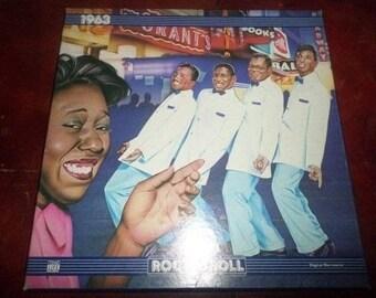 Vintage Vinyl LP Time Life Record Set 1963 The Rock N Roll Era Mint Condition