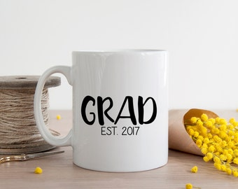 Personalized Grad Established Mug Graduation Gift